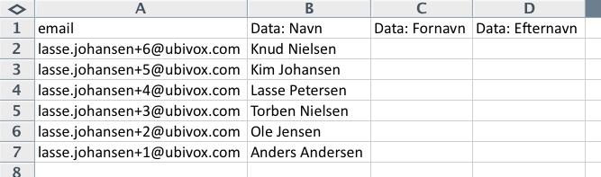 Excel-tricks til at strukturere data før import til Ubivox - billede 11