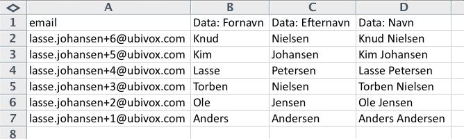 Excel-tricks til at strukturere data før import til Ubivox - billede 4