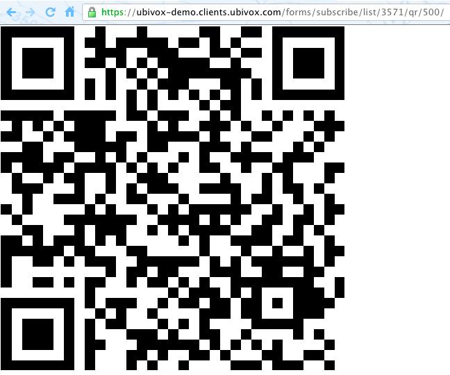 QR koder i Ubivox billede4