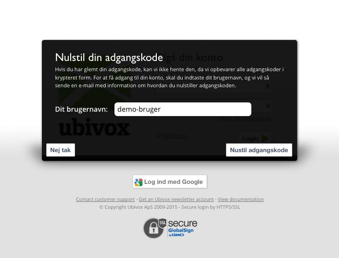Sådan får du en ny adgangskode til din konto - billede 2