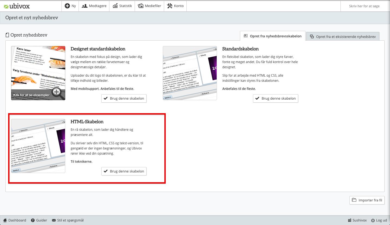 html-redigering i ubivox 3