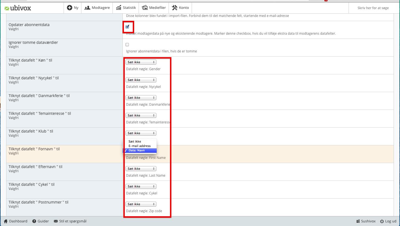 email adresser i danmark